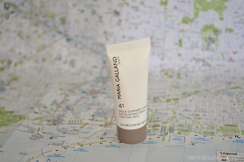 1 Maria Galland 41 doux Gommant Visage exfoliating cream for the face