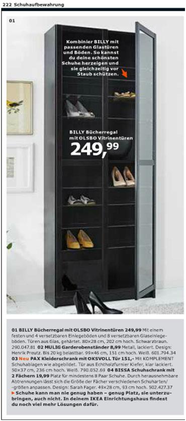 Ikea Billy als Schuhregal | Wohnideen | Viennafashionwaltz