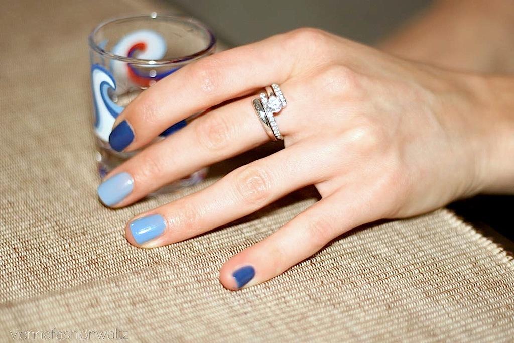 Bluebirds Nail Design 1