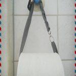 DIY Upcycling - Schlüsselband als kostenloser Toilettenpapierhalter