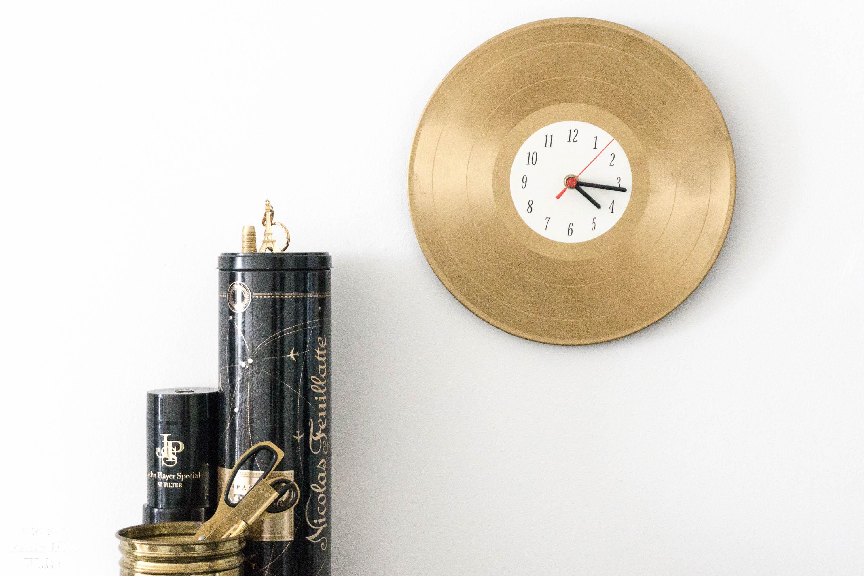 DIY Upcycling - Uhr aus Schallplatte! Vinyl based projects
