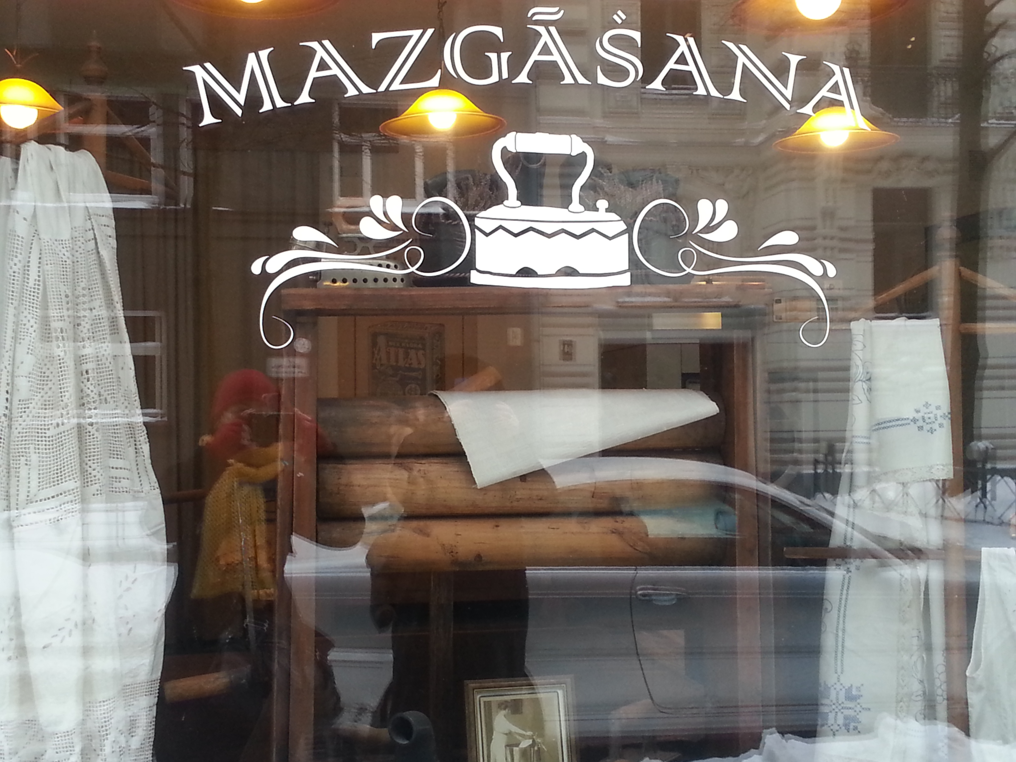 Window in Riga
