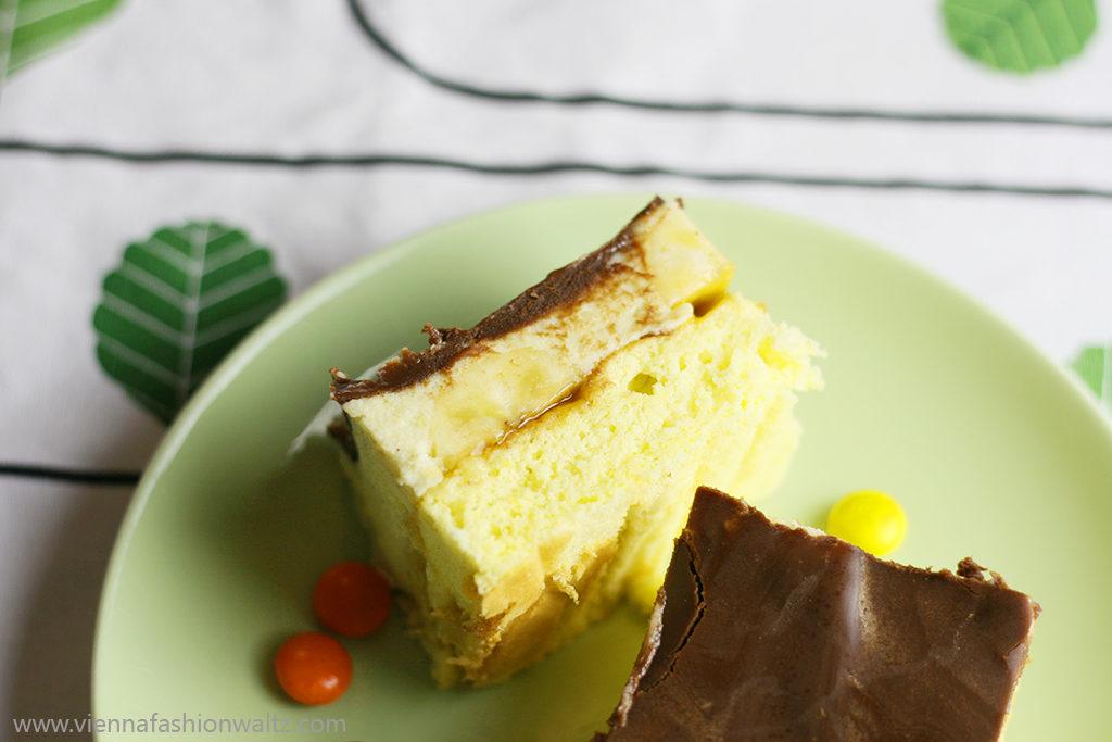 Bananenschnitte mit Schokolade | Das beste Rezept