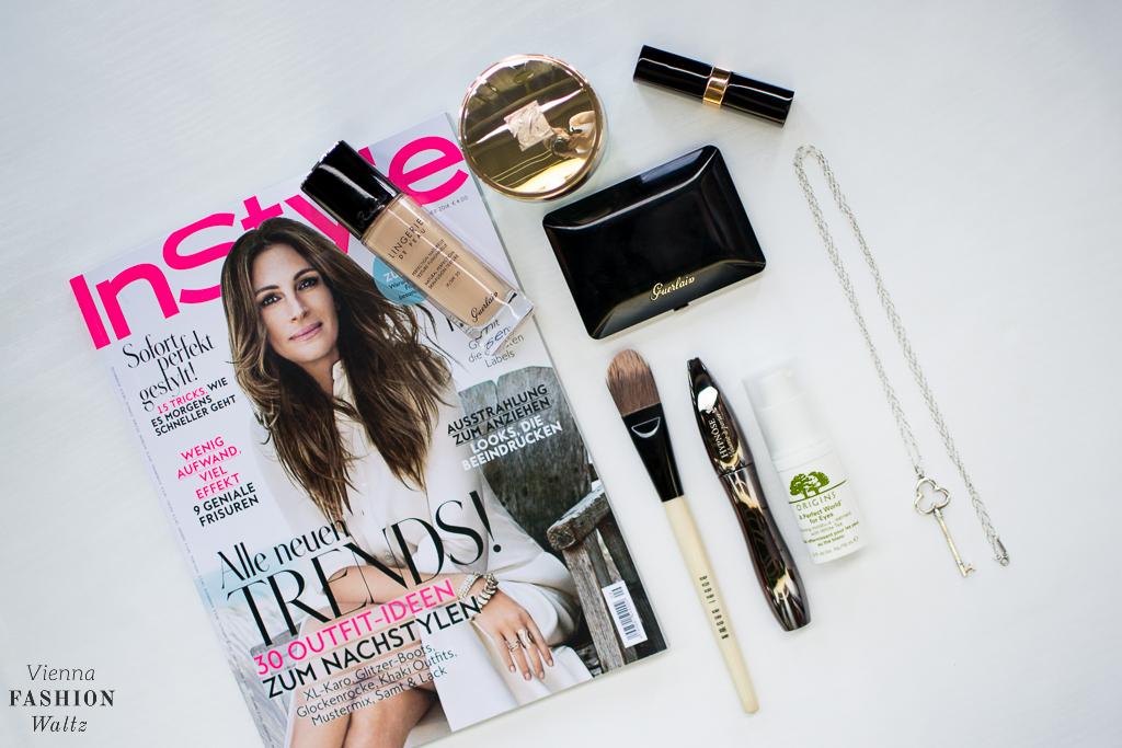 Favourite Beauty Products Beautyblog BBlog Wien Austria www.viennafashionwaltz.com Daily Routine Guerlain InStyle Estee Lauder Bobbi Brown Lancome Origins Tiffany Chanel (1 von 12)