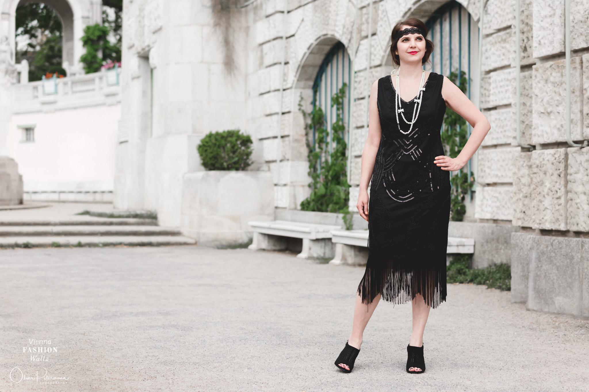 20er Jahre Gatsby Style Outfit Fashion Lifestyleblog www.viennafashionwaltz.com Oliver Petermann Photography