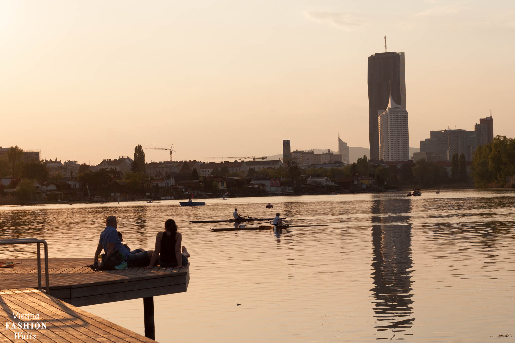 die besten Badeplätze in Wien, Schwimmen in Wien