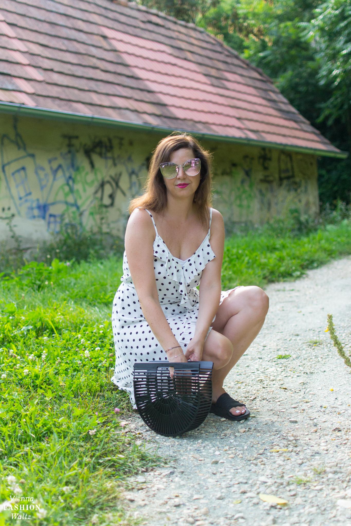 H&M Wickelkleid Adiletten Cult Gaia Ark Vienna Fashion Waltz Blog