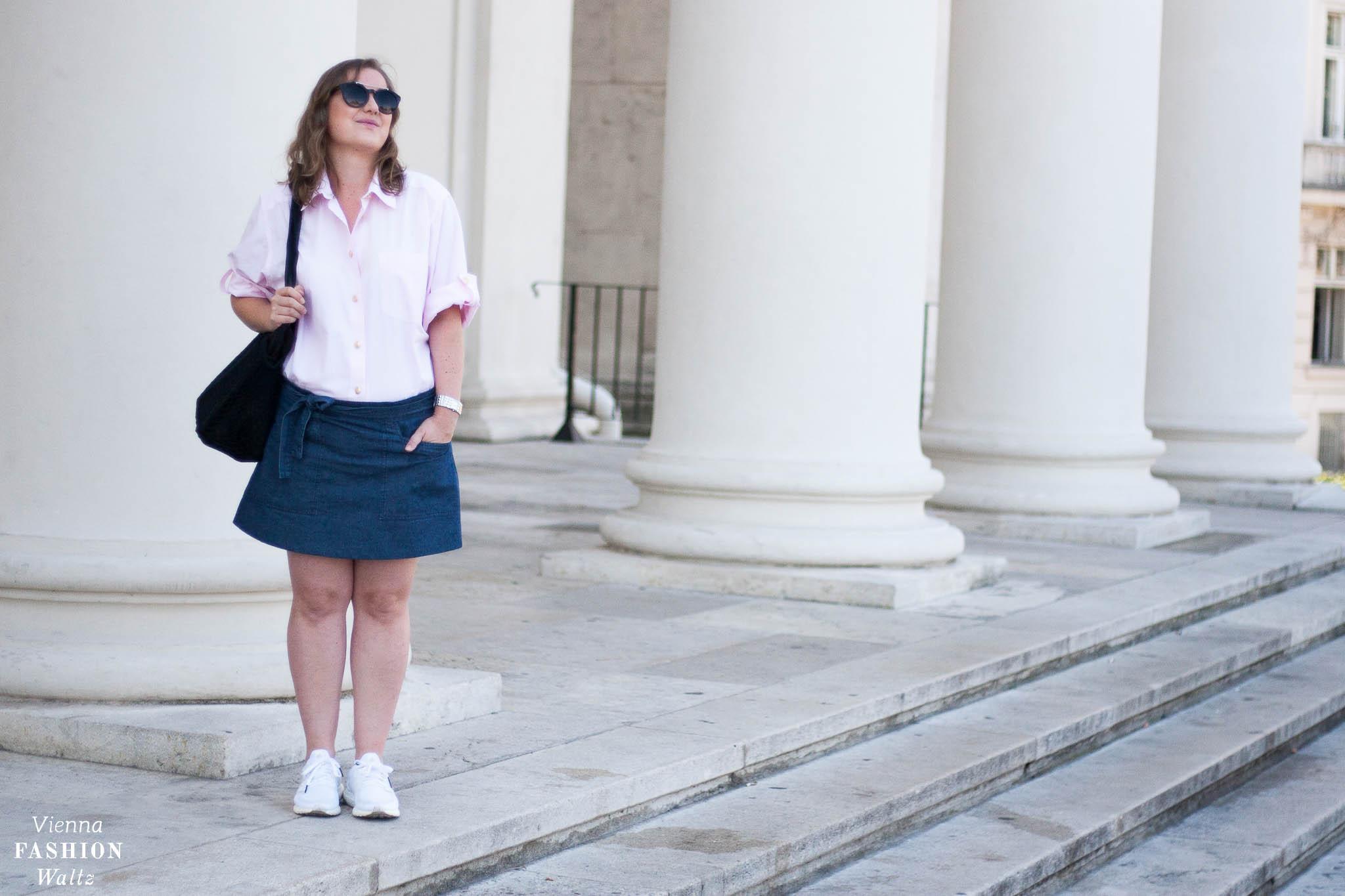Vintage Denim Look mit Burberry Hemd, Outfit, Fashion