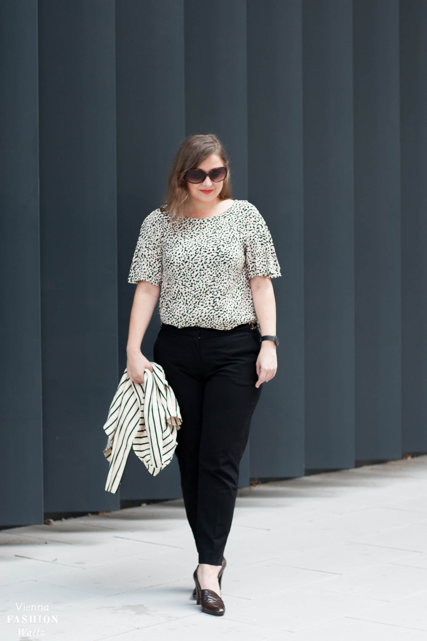 Herbsttrend Leoprint & Stylingtipps, Fashion, Outfit, Trends, Style, H&M Leo Shirt, Vintage Schuhe
