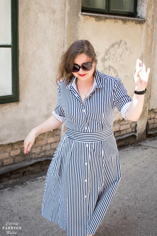 Mode aus Österreich, Wien, Stripes all over: Baby Stripes Outfit, ootd, fashion, trends, mode für Frauen