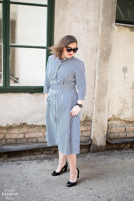 Baby Stripes Kleid, Streifenkleid, How to wear Babystripes