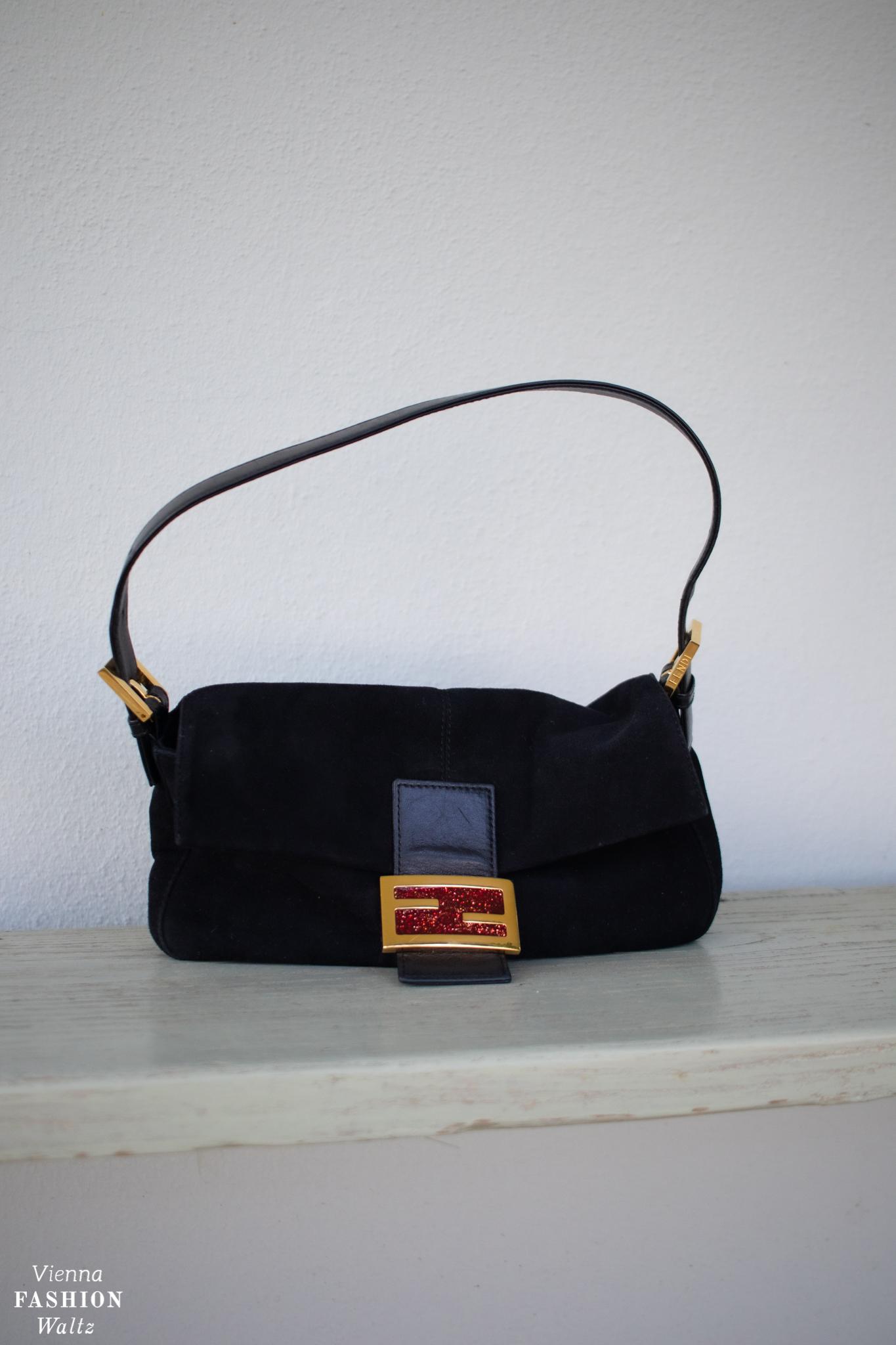 Vintage & Second Hand Schätze Fendi Baguette Vintage 90er Sex and the City Carrie Bradshaw Bag