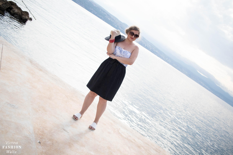 Die perfekte Pantolette für den Sommer, Strand, Meer, Outfit, Sommer, Tube Top, Sonne, Kroatien