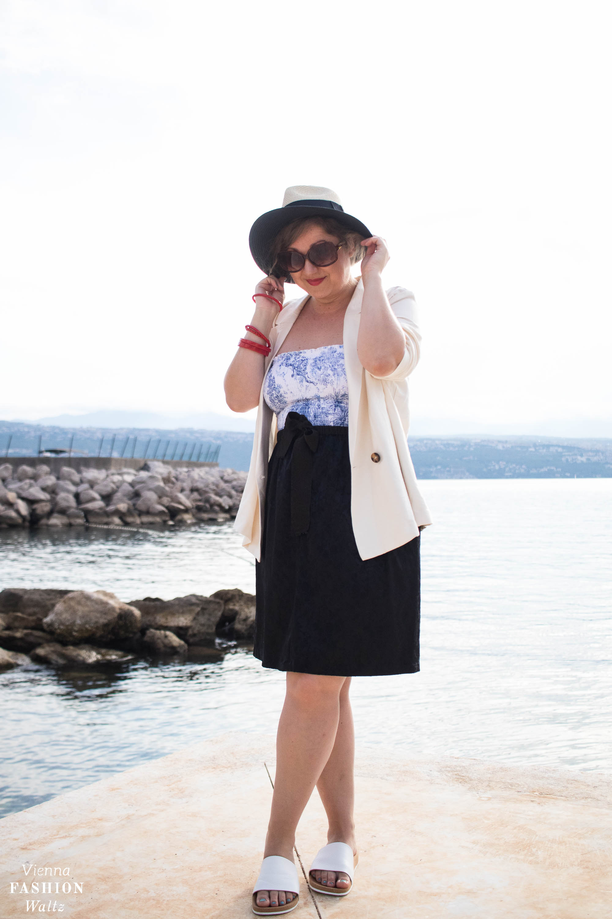 Sommer Trends, outfit, Strand, Meer,