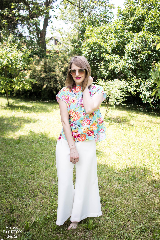 Blumenmuster richtig stylen, floral, atelier snow, Blumenprint, Sommer Outfit