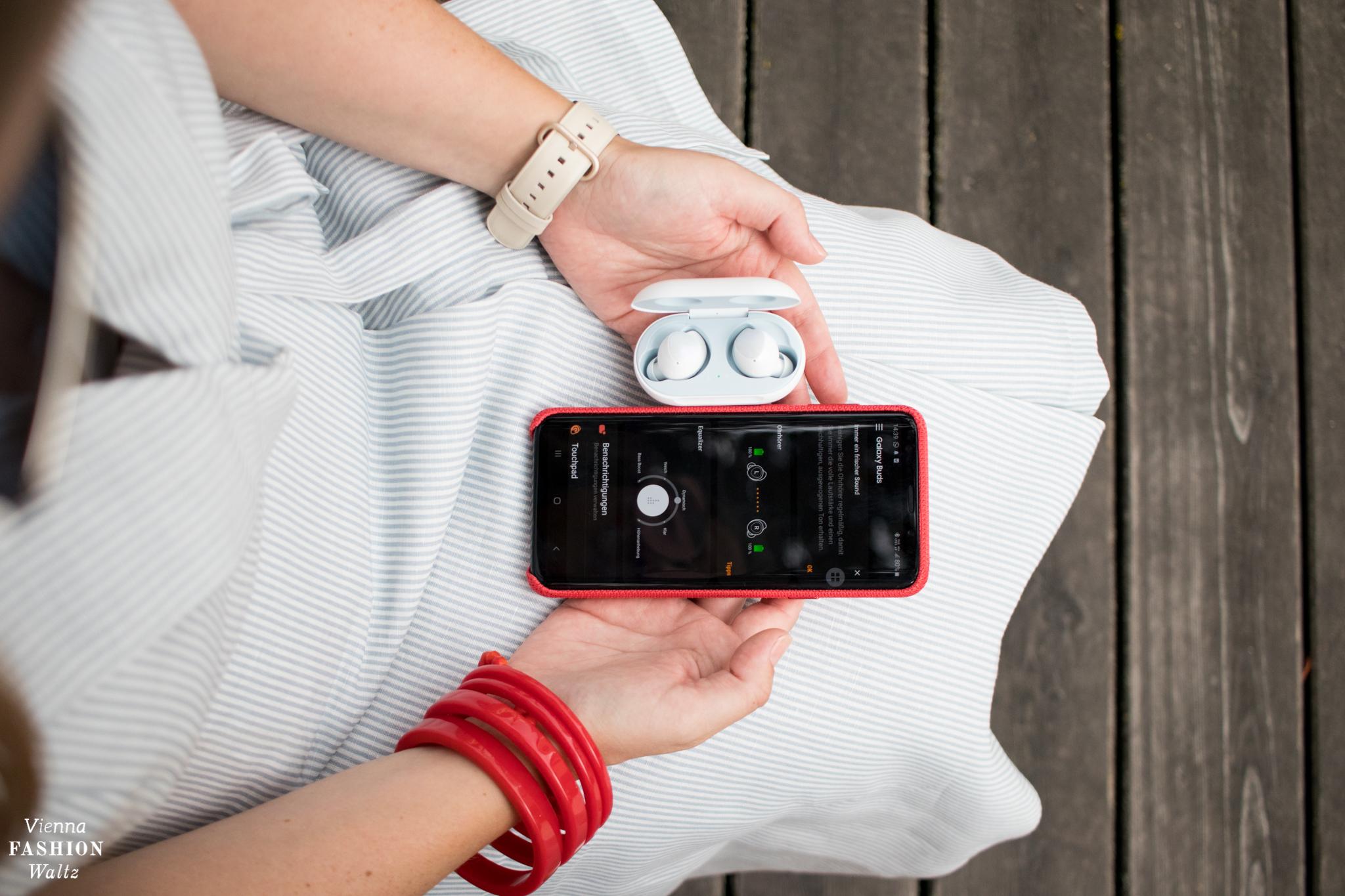 Samsung Galaxy Buds verbinden mit Smartphone