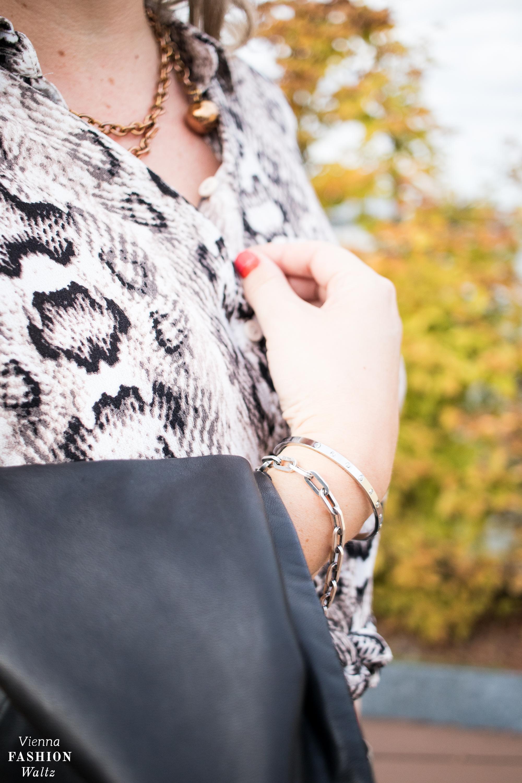 Fashion Detail, Gliederketten, Animalprint