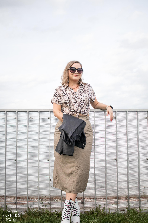 Herbst Outfit und die besten Trends, Animalprint, Leder