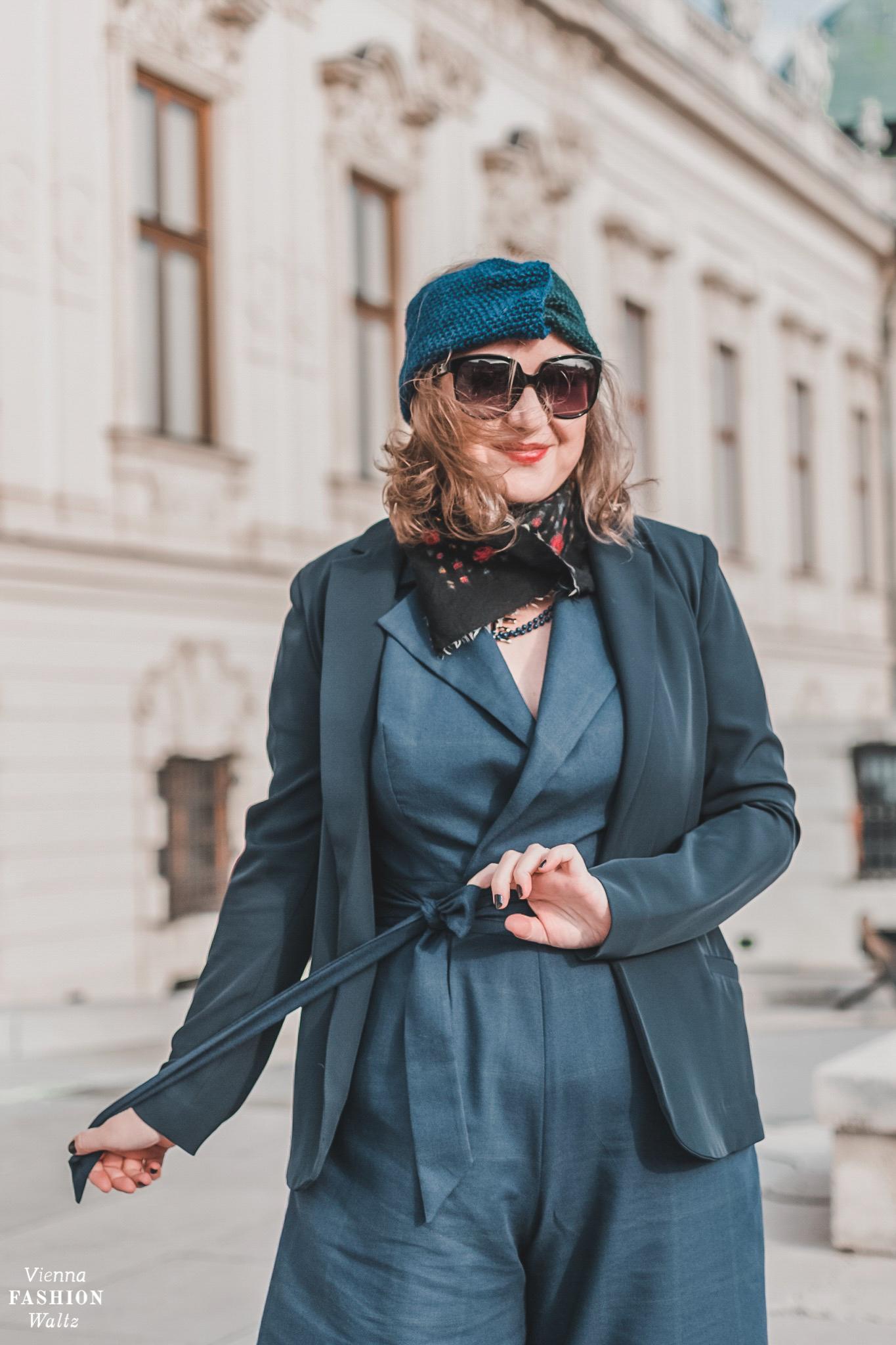 nachhaltige Mode aus Österreich, Atelier Snow, Jumpsuit Tipps, Styling