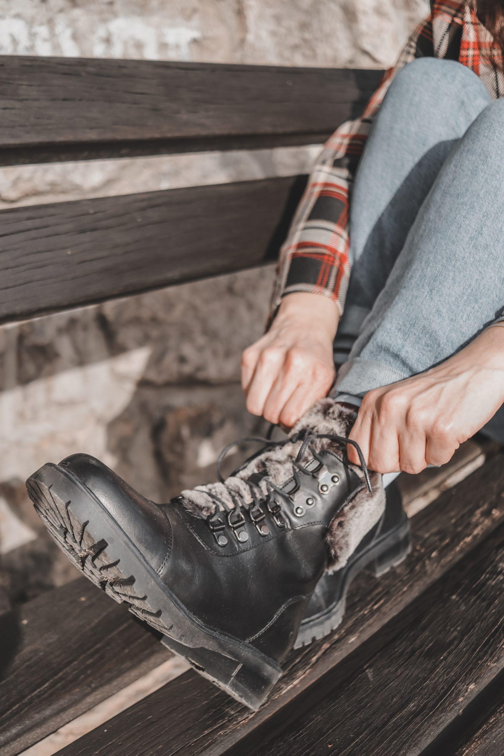 Deichmann Boots Blog Vienna Fashion Waltz Karl Lagerfeld Closed Karo Blazer H&M Fendi Baguette