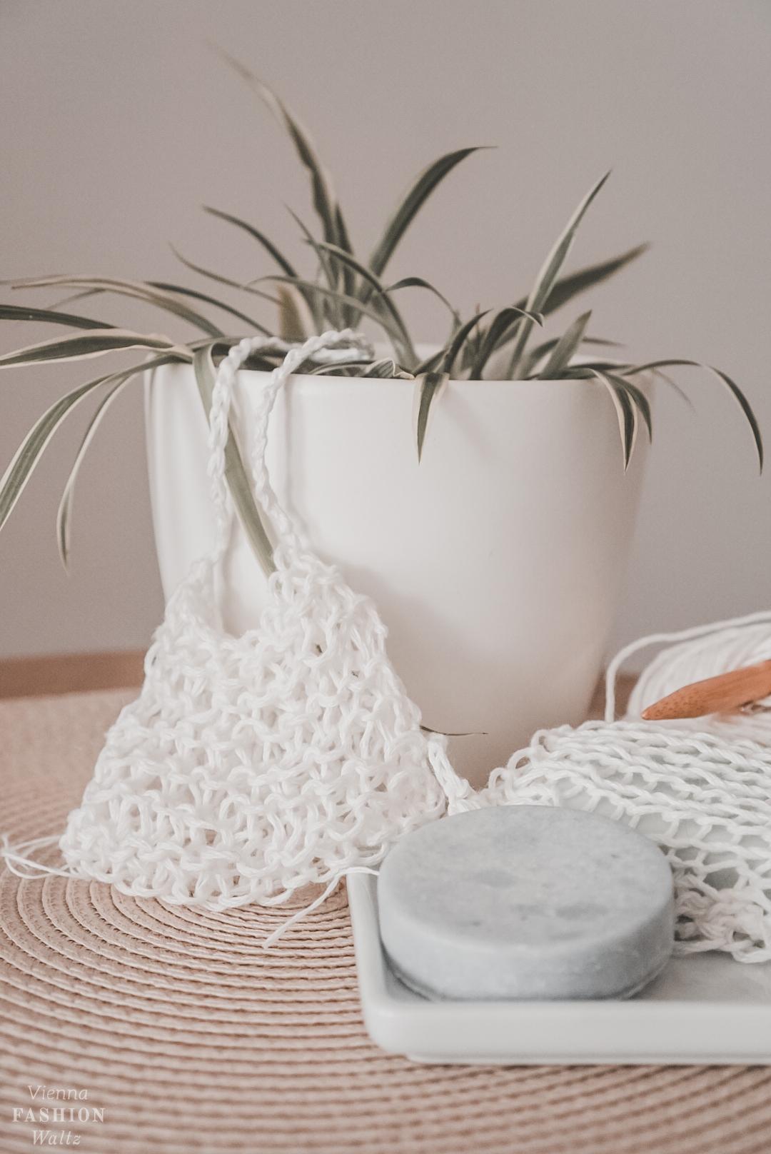 Nachhaltige Seifensäckchen stricken, DIY, kostenlose Anleitung, Nachhaltigkeit, Stricken, Selbermachen