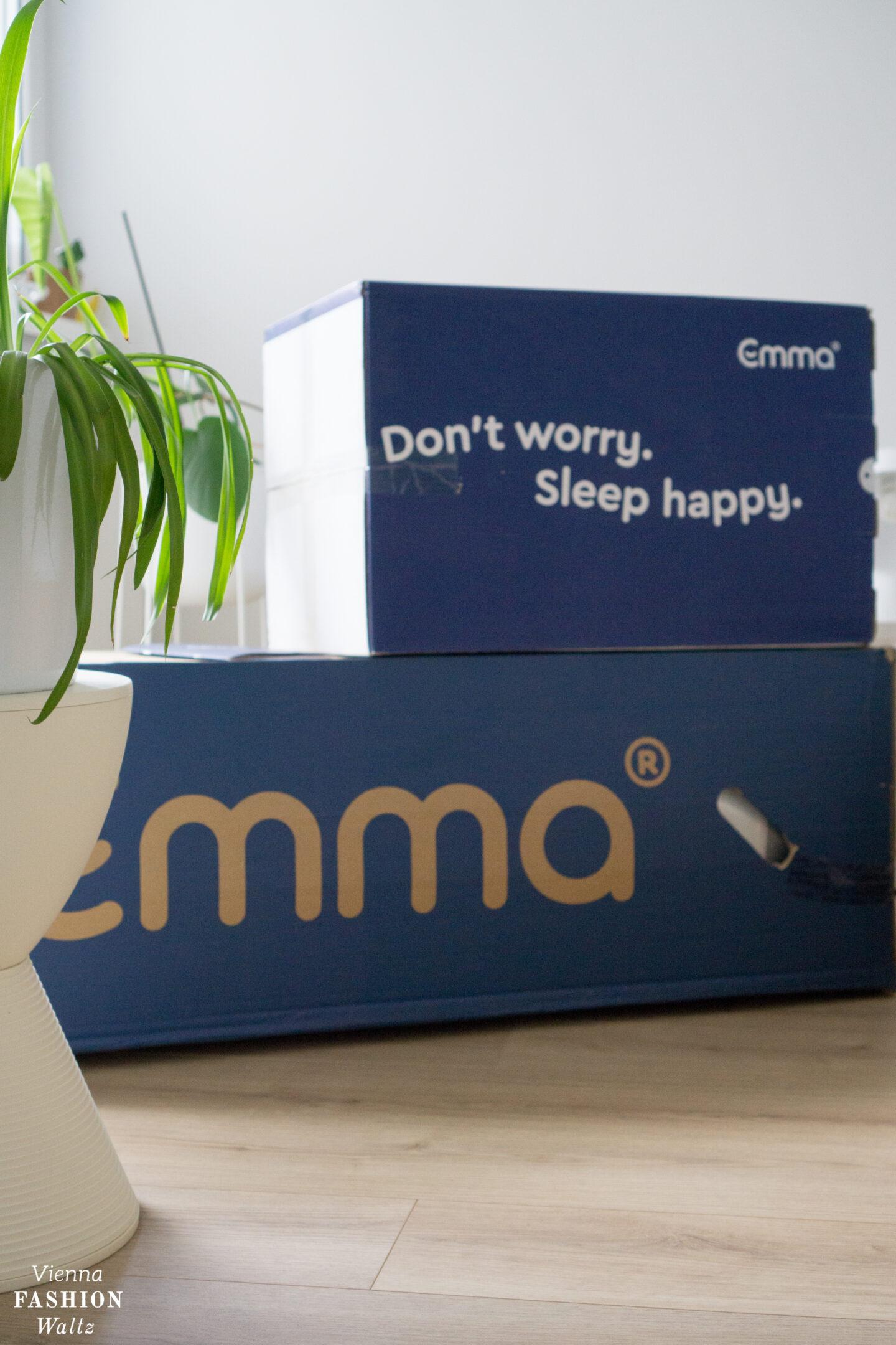 Paket mit Emma Matratze